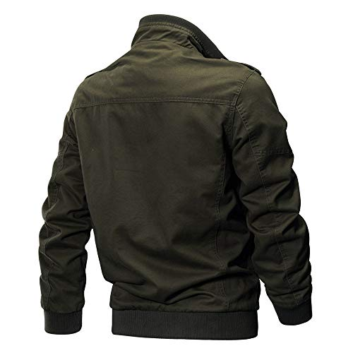 Coat Men's Clothing Tactical Clothing Army Men's Jacket Tomatoa Breathable Military Green Coat Winter Coat Outwear t8x7nqg
