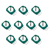 Onyehn 10pcs Replacement Trimmer Potentiometer Sensor for Xbox One,PS3,PS4 Switch Pro Controllers,Gasket Repair Parts for Thumb Stick Analog Joystick