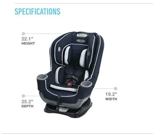 Graco Extend2Fit Convertible Car Seat, Kenzie by Graco (Image #8)