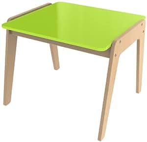 Millhouse Children - Escritorio infantil (madera), color verde