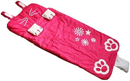 Sacos de Dormir para Niños por Jitty, los Niños Sacos de Dormir,Saco de Dormir Infantil, Rojo Rosa Conejo