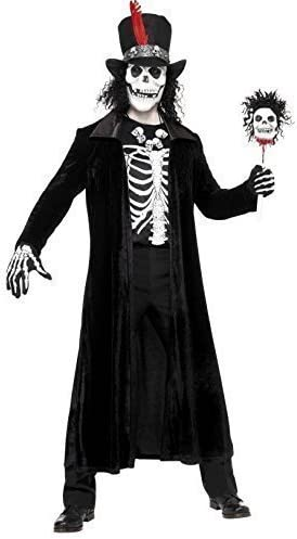 Hombre Voodoo Maestro Muerte Demonio Calavera halloween terror ...
