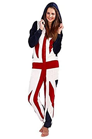 Tokyo Laundry Mens Womens American Flag USA Print Hooded All in One  Patriotic Onesie  Amazon.co.uk  Clothing 43d9354690