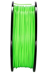 NOVESTE 3D Printer Filament PLA 1.75mm, +/- 0.02 mm, 2.2lbs 1KG Light Green with Spool from NOVESTE