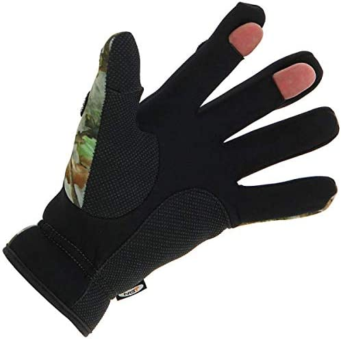 Medium, Large or Extra Large - You Pick DNA Cold Weather Carp Fishing Fleece Lined OD Green Adjustable Snood with Gloves