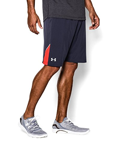 "Under Armour Men's UA Launch Stretch Woven 9"" Run Shorts Small Midnight Navy"