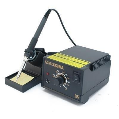 Soldadura Soldar lukey 936 a Temperatura ajustable 200 - 480 °C Estaño SMD: Amazon.es: Electrónica