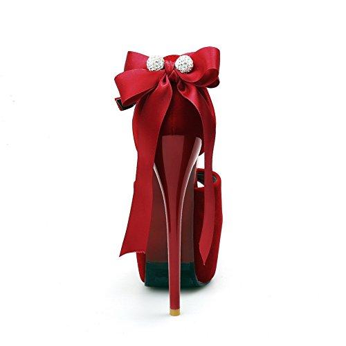 Rouge BalaMasa Femme 5 Plateforme 36 Red EU ASL05490 xnnz7PWSR