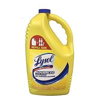 Lysol Disinfectant 144 Ounce Refill Bottle (Advanced Deep Clean Lemon Breeze)