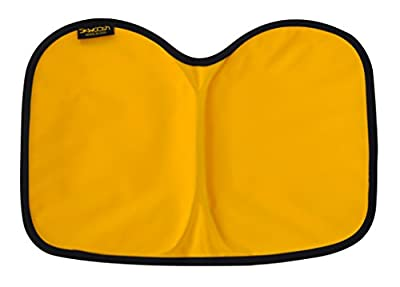 Kayak Pad Seat Cushion for paddling, boating and canoeing | Lightweight Gel, Nylon, Waterproof relieves tailbone pain and pressure