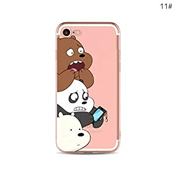 Desconocido Funda iPhone 7, iPhone 8, TPU Gel Somos Osos We ...