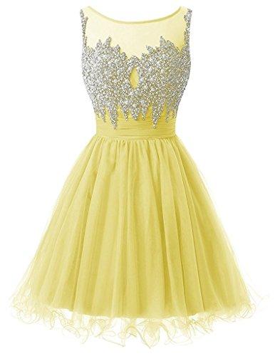 Ysmo - Vestido - Noche - para mujer amarillo amarillo 46