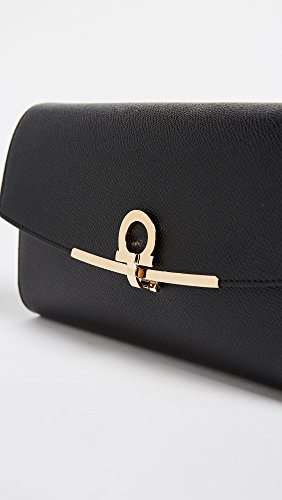 Women's Ferragamo Icon Gancini Bag Salvatore Nero Mini SRwBzq