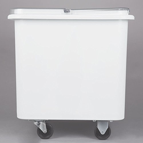 TableTop King FG360100WHT ProSave 28 Gallon Ingredient Storage Bin with Flat Top by TableTop King