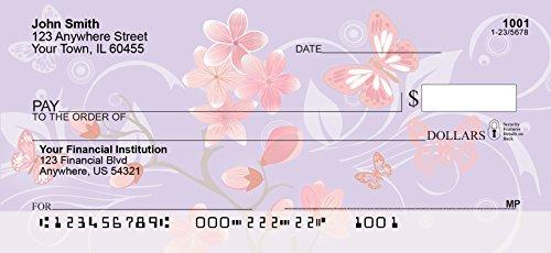 Personalized Checks - Cherry Blossoms Personal Checks (1 Box Singles)