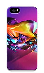 iPhone 5 5S Case 3D Colorful Abstract Colorful Effect 3D Custom iPhone 5 5S Case Cover
