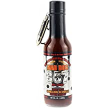 Mad Dog 357 Silver Collector's Edition with bullet Key Chain Hot Sauce, 5 Ounce