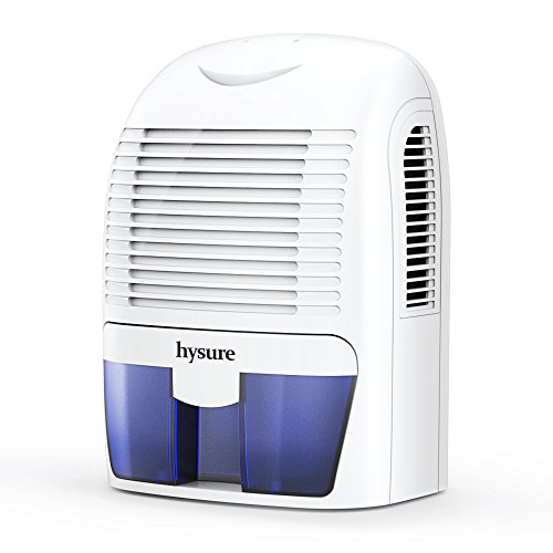 hysure Electric Dehumidifier, Removes Humidity 550ml per day, 1500ml...