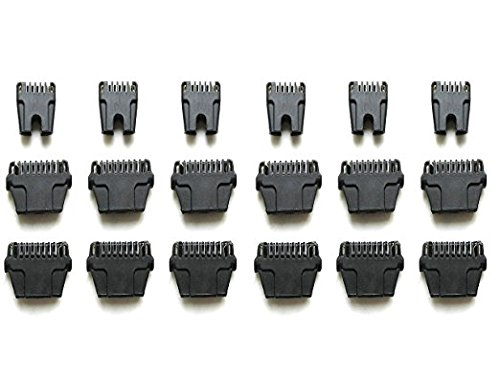 Replacement Thermicon Refill Tips for Nono Hair Removal Epilator 8800 MINI Pro 3 and Pro 5 (12Wide&6Narrow)