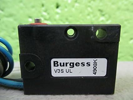 xcg3-z1 émbolo Burgess V4 Microswitch