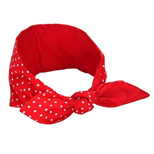 Buy red bandana headband for women
