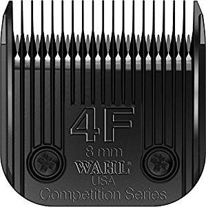 Wahl Professional Animal Full Ultimate Blade #4F With a Bonus Blade Cleaning (Wahl Competition Series)