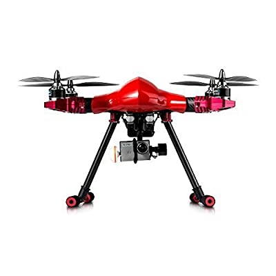 FLYPRO PX400 Standard 2 Professional Drone Quadcopter with FPV and HD Video Camera, Red