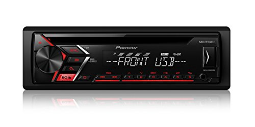 - Pioneer DEH-S1000UB CD Single DIN Car Stereo Receiver