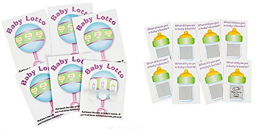 Ticket Set - Baby Shower Lotto Game Set (48 Pieces)