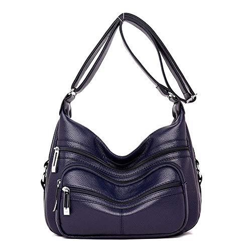 tracolla borse tracolla principale donne Femme Ladies di marchio le Designer un nuove blu per pelle marrone borsa in lusso Wangkk a a rosso 5qcHWct