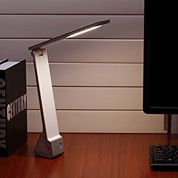 AVAWAY LED Desk Lamp, Wireless Eye Caring USB Rechargeable Table Lamp, 3  Lighting