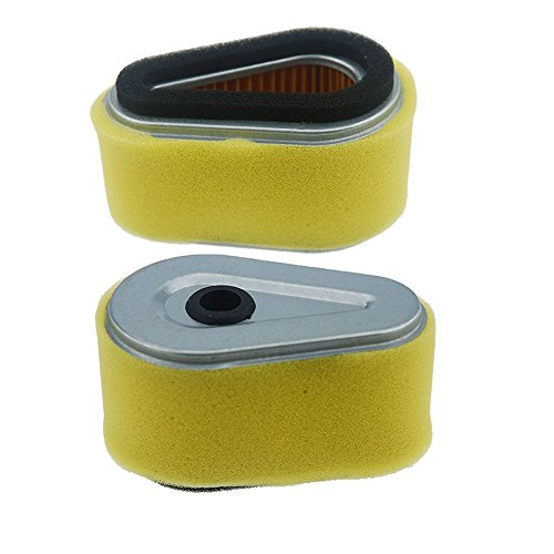VideoPUP(TM) New Air Filter for KAWASAKI FC150V 11013-2120 11013-2175 John Deere M79451 Lawn Mower Replacement (Pack of 2)