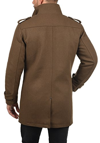 Camel Chaqueta BLEND para Hombre 71517 Brown Warren Abrigo wqAAPxZX
