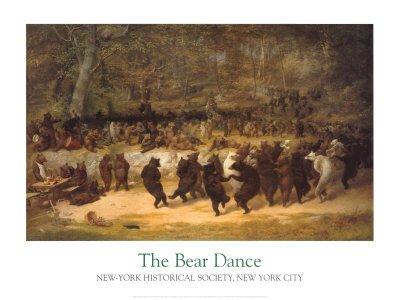 dancing bears painting - 3