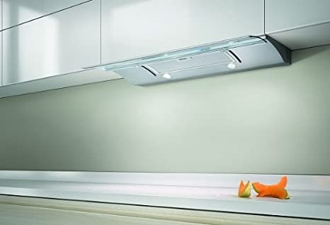 Great Elica GLIDE60 Decorative 60cm Built In Cooker Hood With Telescopic Glass  Panel