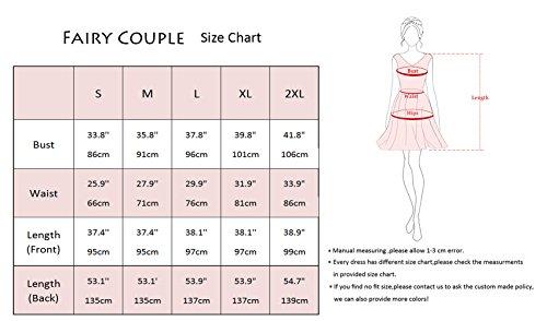 Fairy De Cocktail Manches Robe Couple Pour Dl022 Sans Femme Rose B Vintage Soirée rq4wrFEI