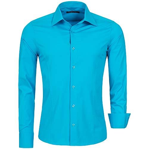 Turquesa Redbridge Para Hombre türkis Camisa qq6xtSw5rT