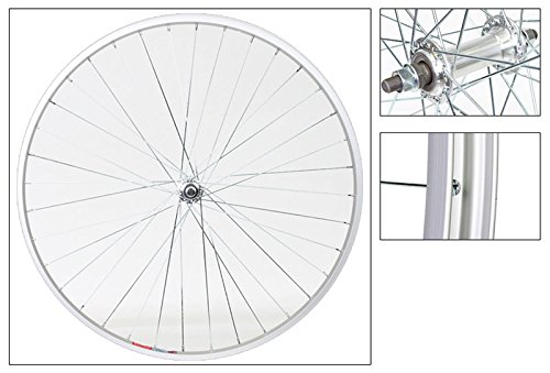 Wheel Master Hybrid/Comfort Front Wheel, 700 x 35c, Bolt On, Silver by WheelMaster