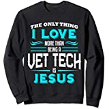 Veterinary Technician Vet Tech Christian Sweatshirt Week