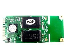 KingSpec - Disco duro SSD para Dell Mini 9 Inspiron 910 (PATA, mini PCI Express, 16 GB, 3 x 5 cm o 3 x 7cm)