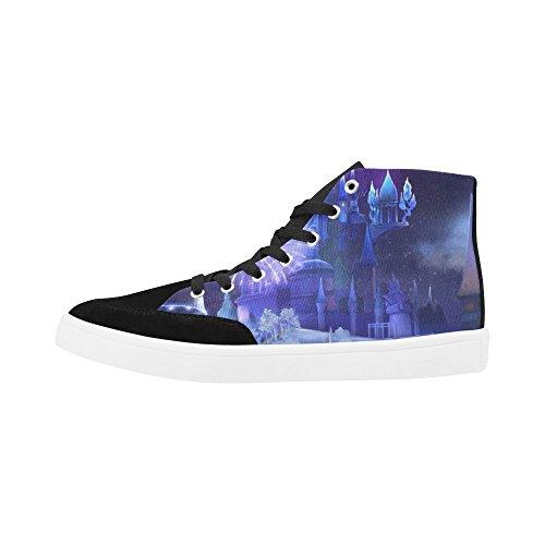 Interestprint Ice Kingdom High Top Zapatos Para Mujeres