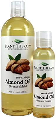 Sweet Almond Carrier Oil. A Base Oil for Aromatherapy, Essential Oil or Massage use.