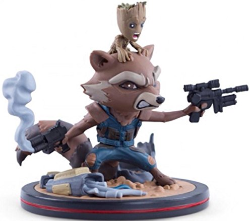 Guardians of the Galaxy  Rocket & Groot Q-Figurine
