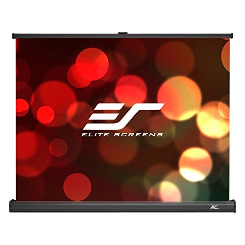 Elite Screens Pico Screen Series, 45-inch 4:3, Light-Weight Portable Table-Top Pull-Up Projection Screen, MaxWhite 1.1 Gain Front Material (Ultra HD/4K), PC45W by Elite Screens