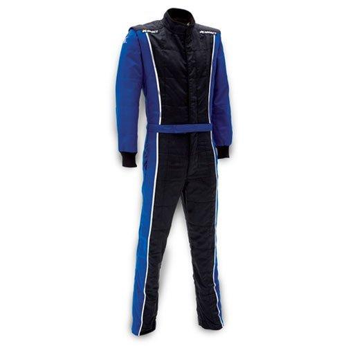 - Impact Racing 24215406 Racer Suit SFI 3.2A/5 Rated Blue & Black Medium