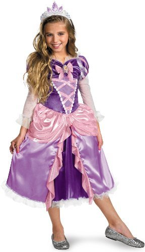 "Princess ""Tangled"" Rapunzel Shimmer Deluxe Costume - Small (4-6x)"