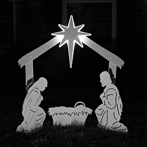 Best Outdoor Nativity Scenes