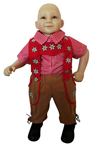 Bavarian-boy toddler-s halloween costume-s, baby girl-s boy-s, F120 Size: 2t -