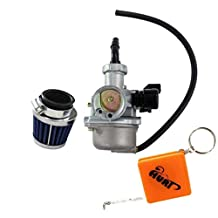 HURI Carburetor with Air Filter for PZ22 4-Stroke Quad Pit Bike Engines 110cc 125cc 140cc 150cc