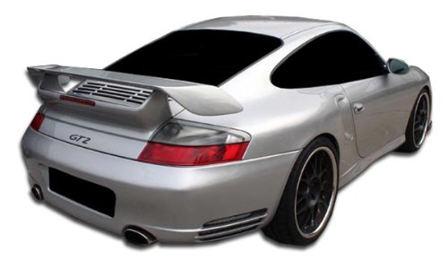 Duraflex ED-DCU-889 GT-2 Look Rear Bumper Cover - 1 Piece Body Kit - Compatible For Porsche 996 2002-2004